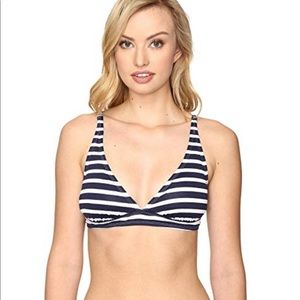 Tommy Bahama Sportif Stripe Bikini  top👙 👙